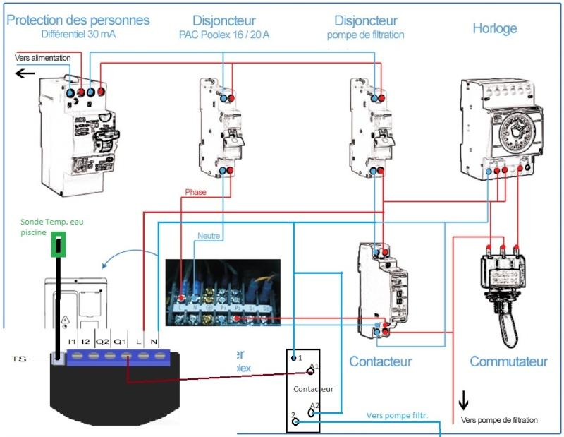 """Module Z-wave pour """"domotiser"""" sa pompe de filtration et PAC Branch10"""