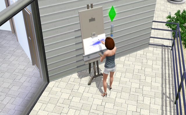 [Débutant] Mettre des objets créés par les Sims sur un terrain communautaire (peintures ...) Scree249