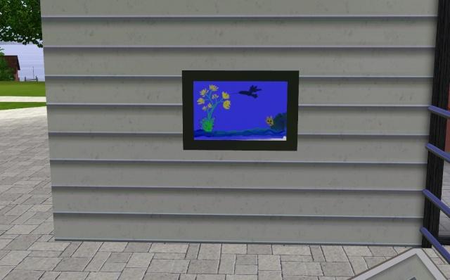[Débutant] Mettre des objets créés par les Sims sur un terrain communautaire (peintures ...) Scree251