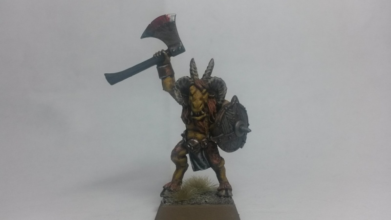 beastmen - Beastmen Warband Gor1010