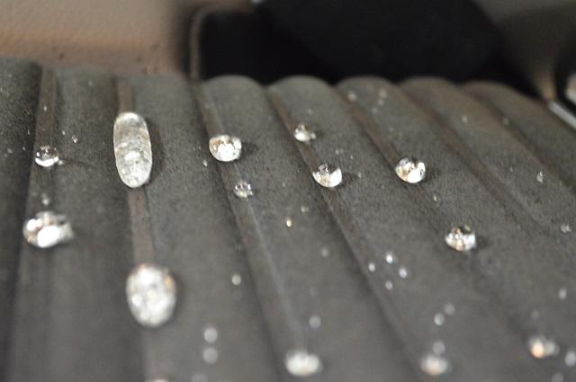 Protezione sedili in tessuto con Gtechniq l1 Smart Fabric Nano Coat Tapata11