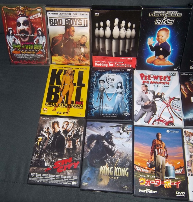 My DVD Collection Dubbed In Japanese Pictur22