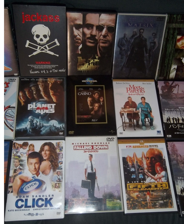 My DVD Collection Dubbed In Japanese Pictur23