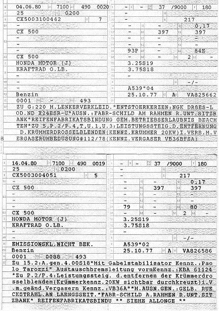 AVON Kombi und BT45 Papier10