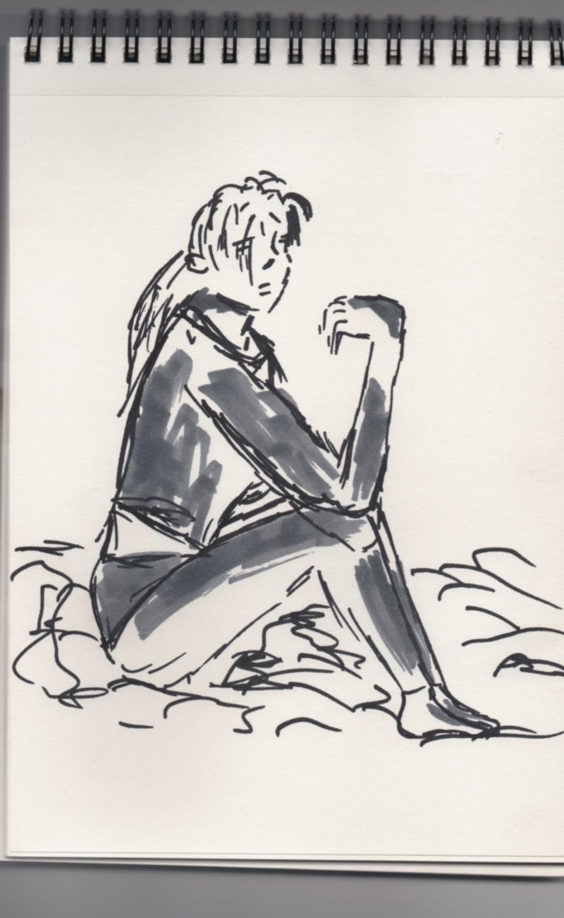 Fille sur son lit,de Mozart Laure10