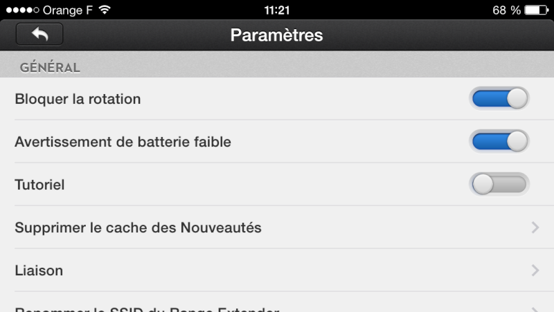 Traduction FRANCAISE App 1.0.42 pour iOS Img_0819