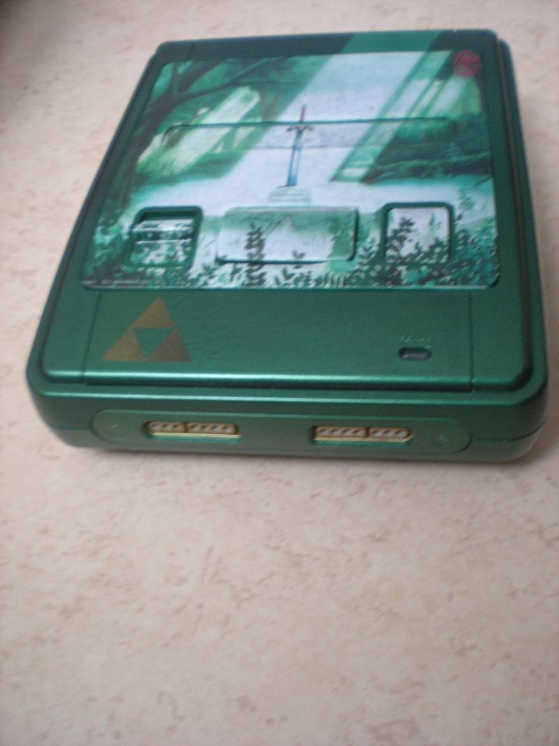 Super Nintendo customisée Zelda Dscn8411