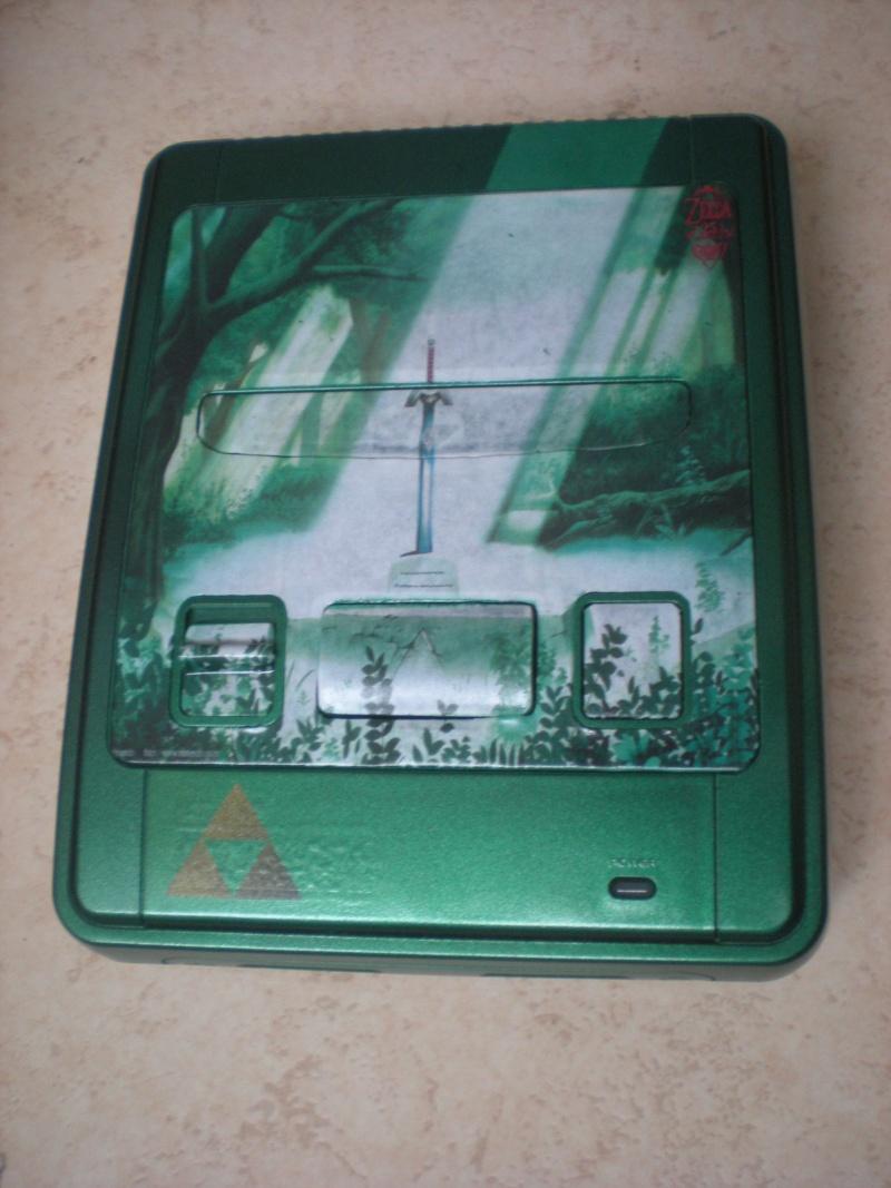 Super Nintendo customisée Zelda Dscn8412