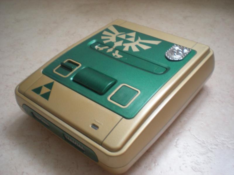 Super Nintendo customisée Zelda Dscn8414