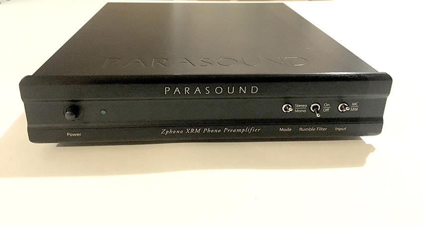 Pre Phono Parasound Zphono XRM Paraso16