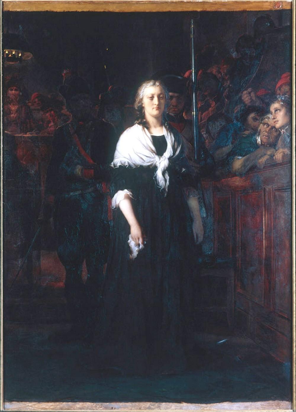 Le procès de Marie-Antoinette illustré par Paul Delaroche Delaro10