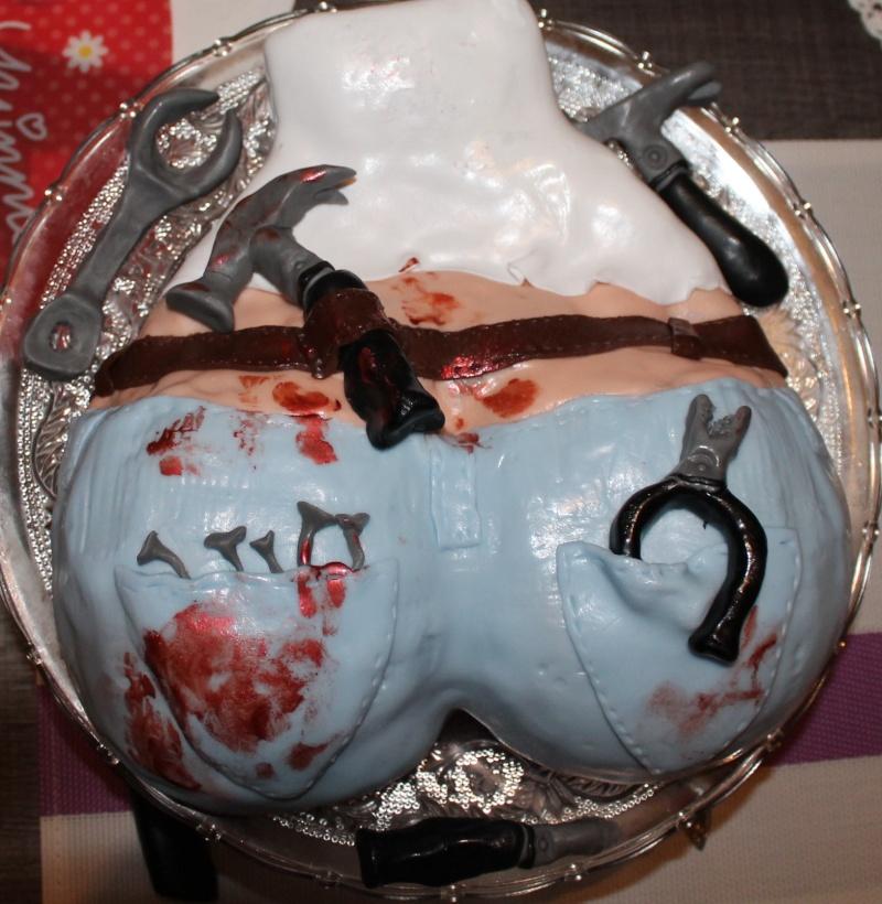 Réaliser un gâteau rigolo à partir d'une photo Gateau12