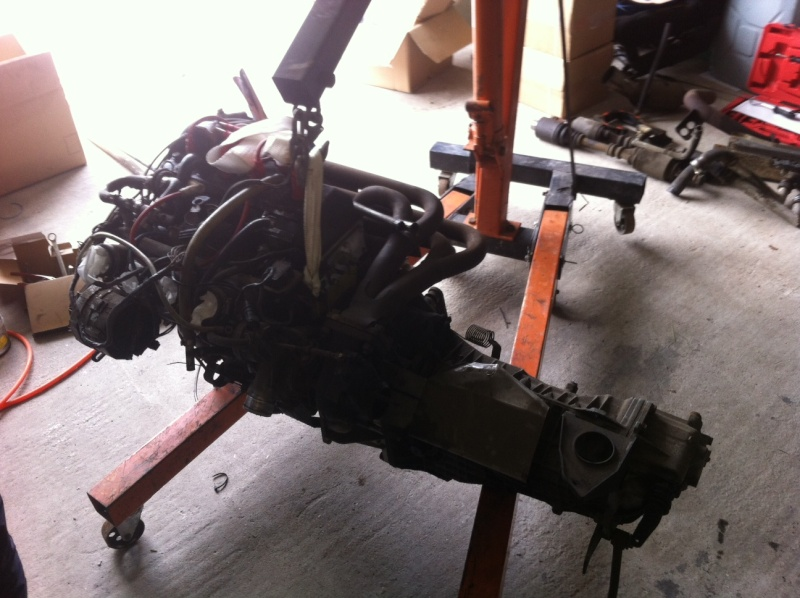 Restauration de ma R5 turbo2 baptisée AKI Moteur10