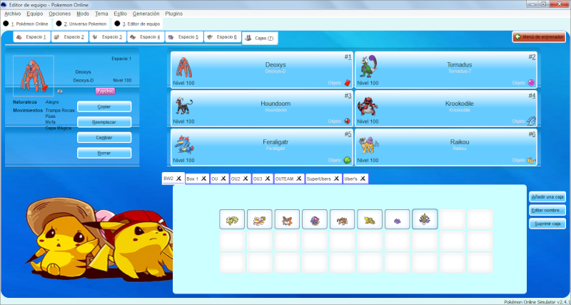Tema - Pokemon Adventure Teambu15