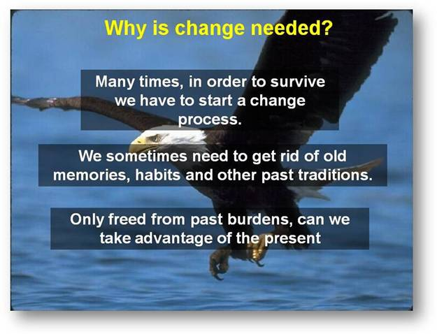 WHY IS CHANGE NEEDED ? E1310