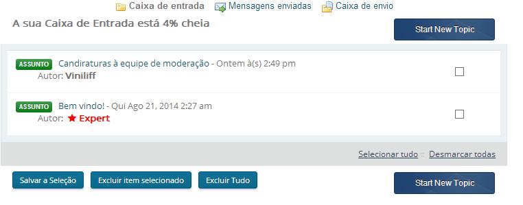 Caixa de entrada Inbox10