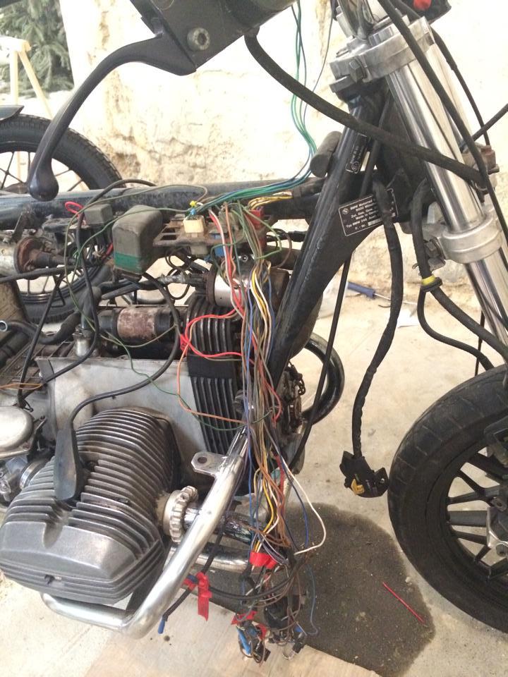 BMW R65 flat tracker 10306511