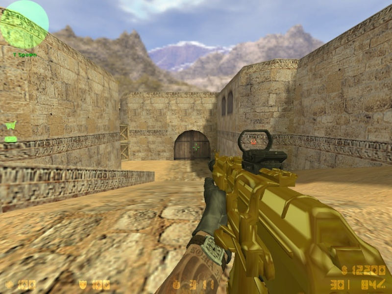 Call Of Duty MW3 gold camo and attachents De_dus24