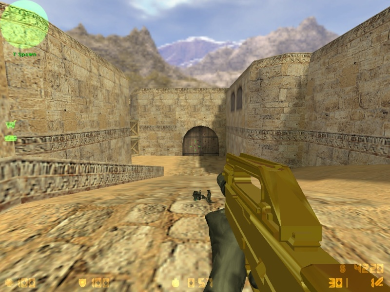 Call Of Duty MW3 gold camo and attachents De_dus25