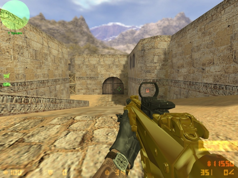 Call Of Duty MW3 gold camo and attachents De_dus27