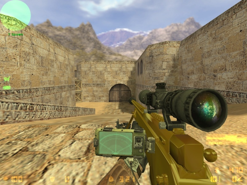 Call Of Duty MW3 gold camo and attachents De_dus28
