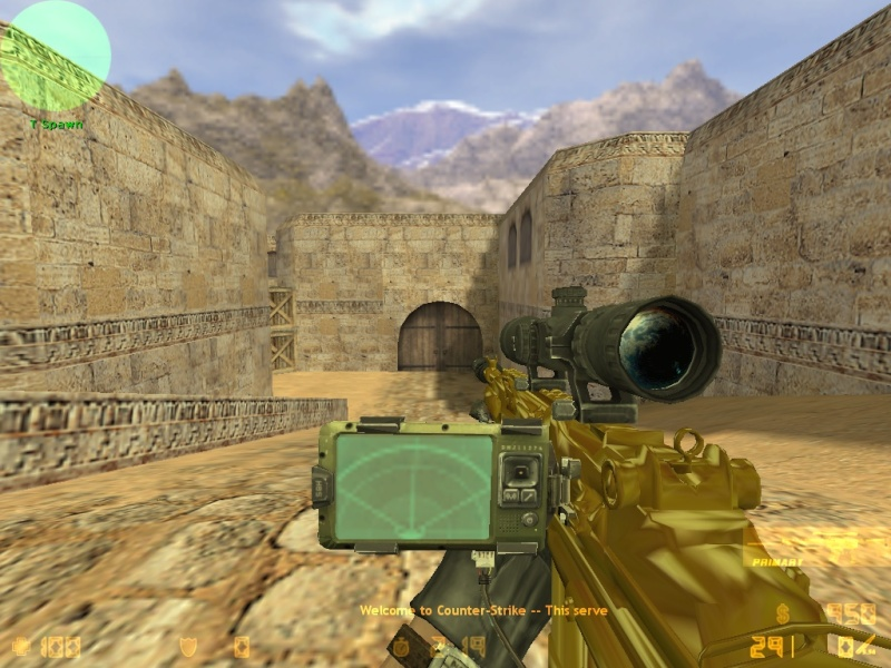 Call Of Duty MW3 gold camo and attachents De_dus29