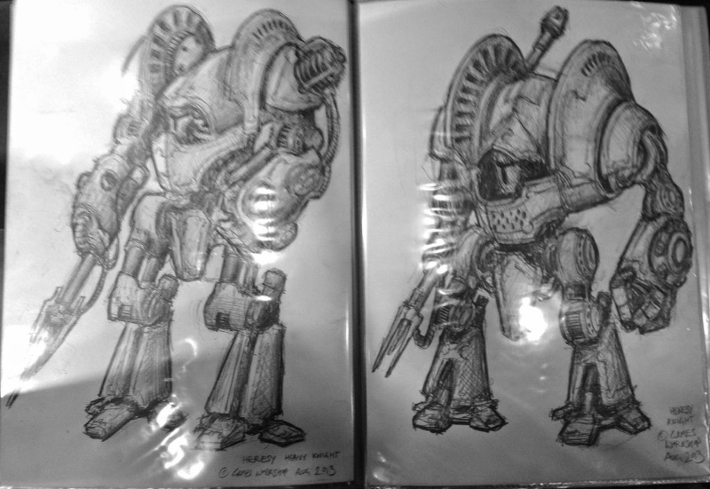 Horus heresy weekender  - Page 3 Knight15