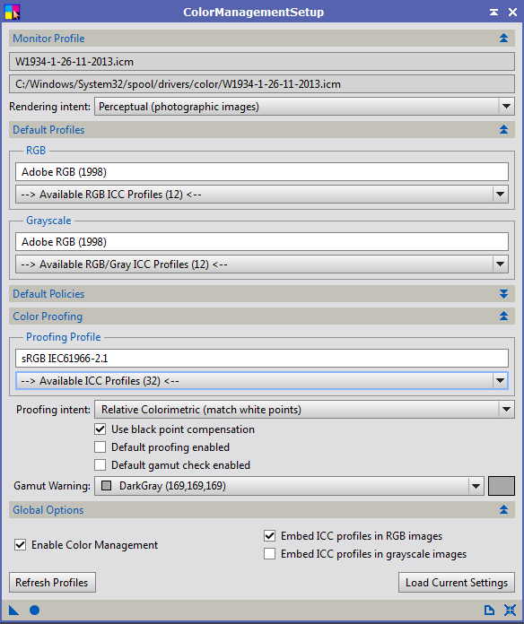 Calibration Ecran et Pixinsight 2014-012