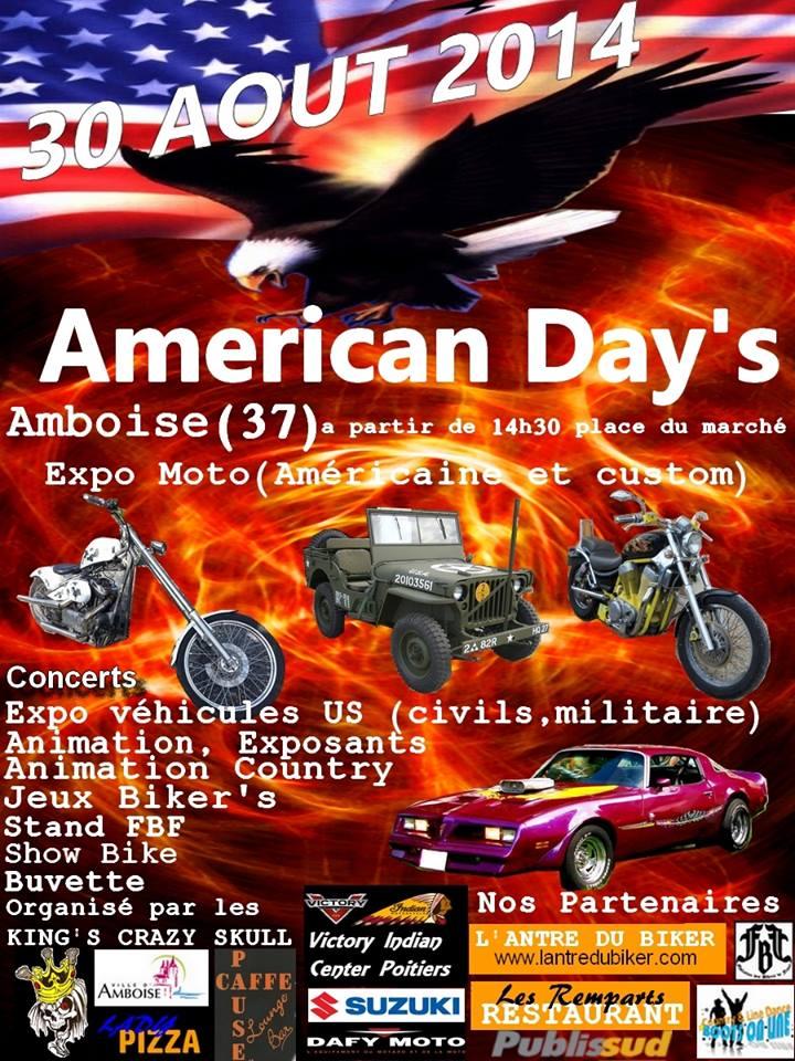 American Days Amboise samedi 30 août 30aout10