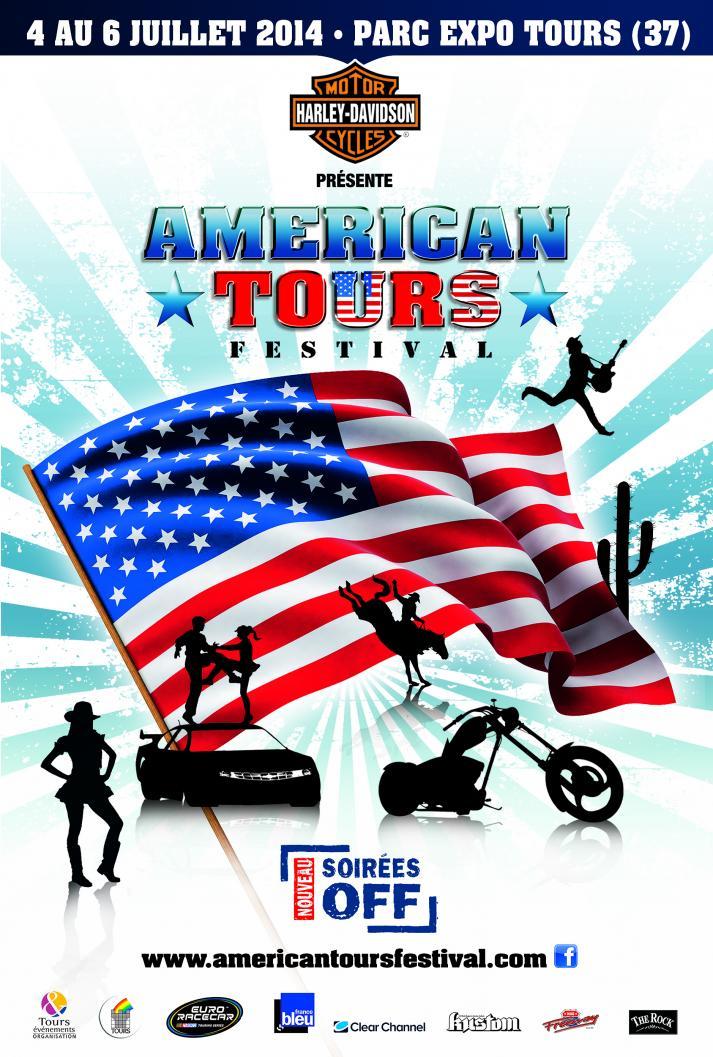American Tours Festival du 4 au 6 juillet 2014 Visuel10