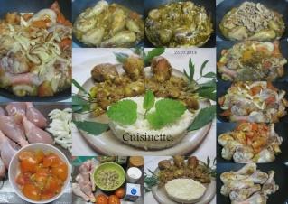 Pillons de poulet. champignons. sauce curcuma + photos. 10428410