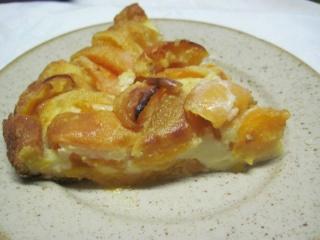 Clafoutis aux abricots frais.photos. 10590510