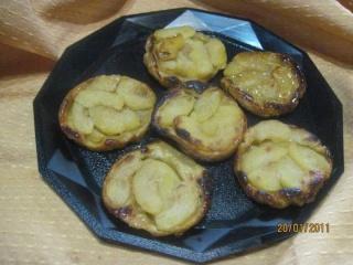 Mini tatin aux pommes + photos. Aiguil11
