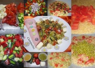 Boulgour au quatuor de légumes et mozzarella + photos. Boulgo10