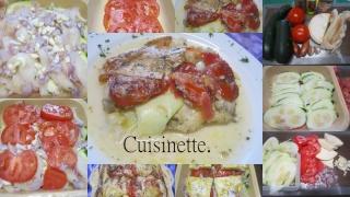 Cabillaud aux légumes gratiné au reblochon + photos. Cabill10