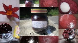 Confiture de cerises griottes + photos. Confit13
