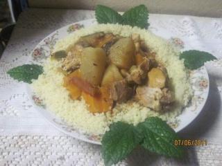 Couscous marocain à ma façon. + photos. Cousou10