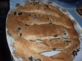 Fougasse aux olives noires. + photos. Fougas10
