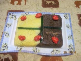 Gâteau aux pralines et chocolat. + photos. Gateau16