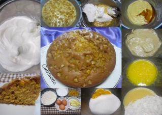 Gâteau aux dés d'oranges confites + photos. Gateau17