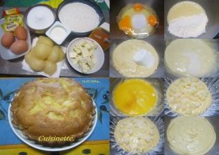 Gâteau yaourt poires au sirop. + PHOTOS. Gateau21