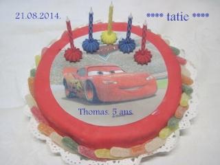 Gâteau anniversaire rapide sans cuisson.nutella. photos. Img_1212