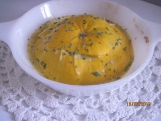 Pâtissons jaunes farcis à l'omelette. + photos. Patiss10