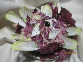 Salade aux 2 endives + photos. Salade11