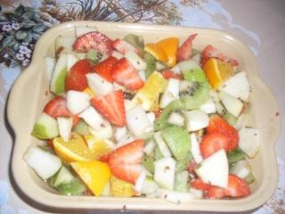 Salade de fruits au vin blanc et graines d'anis. + photos. Salade13