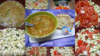 Soupe de courgettes. tomates. au micro-ondes + photos. Soupe_13