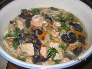 Soupe aux pâtes chinoise + photos. Soupe_15