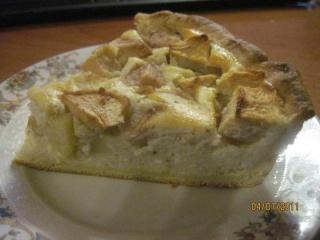 Tarte au fromage de brousse et pommes poires. + photos. Tarte_15