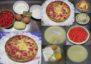 Tarte aux cerises bigarreaux.avec crème + photos. Tarte_21