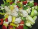 sauté de dinde aux restes de légumes + photos. Img_4720